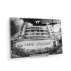 Virginia Tech Hokies - Lane Stadium Black & White - College Wall Art #Acrylic Mini