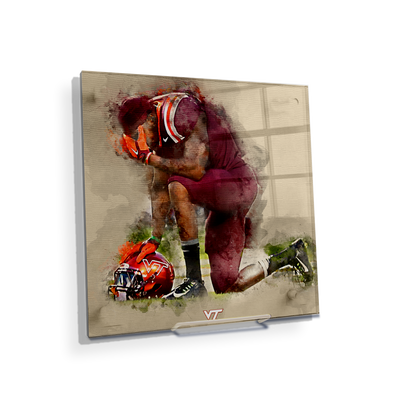 Virginia Tech Hokies - VT Pray - College Wall Art #Acrylic Mini