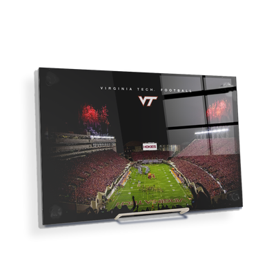 Virginia Tech Hokies - Enter VT Football - College Wall Art #Acrylic Mini