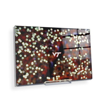 Virginia Tech Hokies - Light Up Lane - College Wall Art #Acrylic Mini