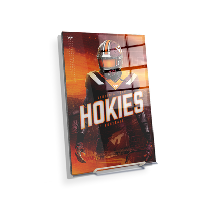 Virginia Tech Hokies - This is Hokie Football - College Wall Art #Acrylic Mini