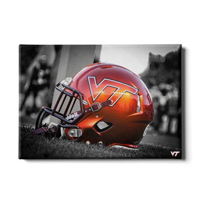 Virginia Tech Hokies - VT Helmet - College Wall Art #Canvas