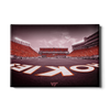 Virginia Tech Hokies - Hokie End Zone - College Wall Art #Canvas