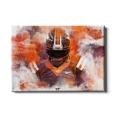 Virginia Tech Hokies - Hokie Stone - College Wall Art #Canvas