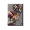 Virginia Tech Hokies -  VT Watercolor - College Wall Art #Canvas