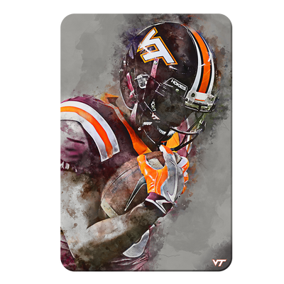 Virginia Tech Hokies - VT Watercolor - College Wall Art #PVC