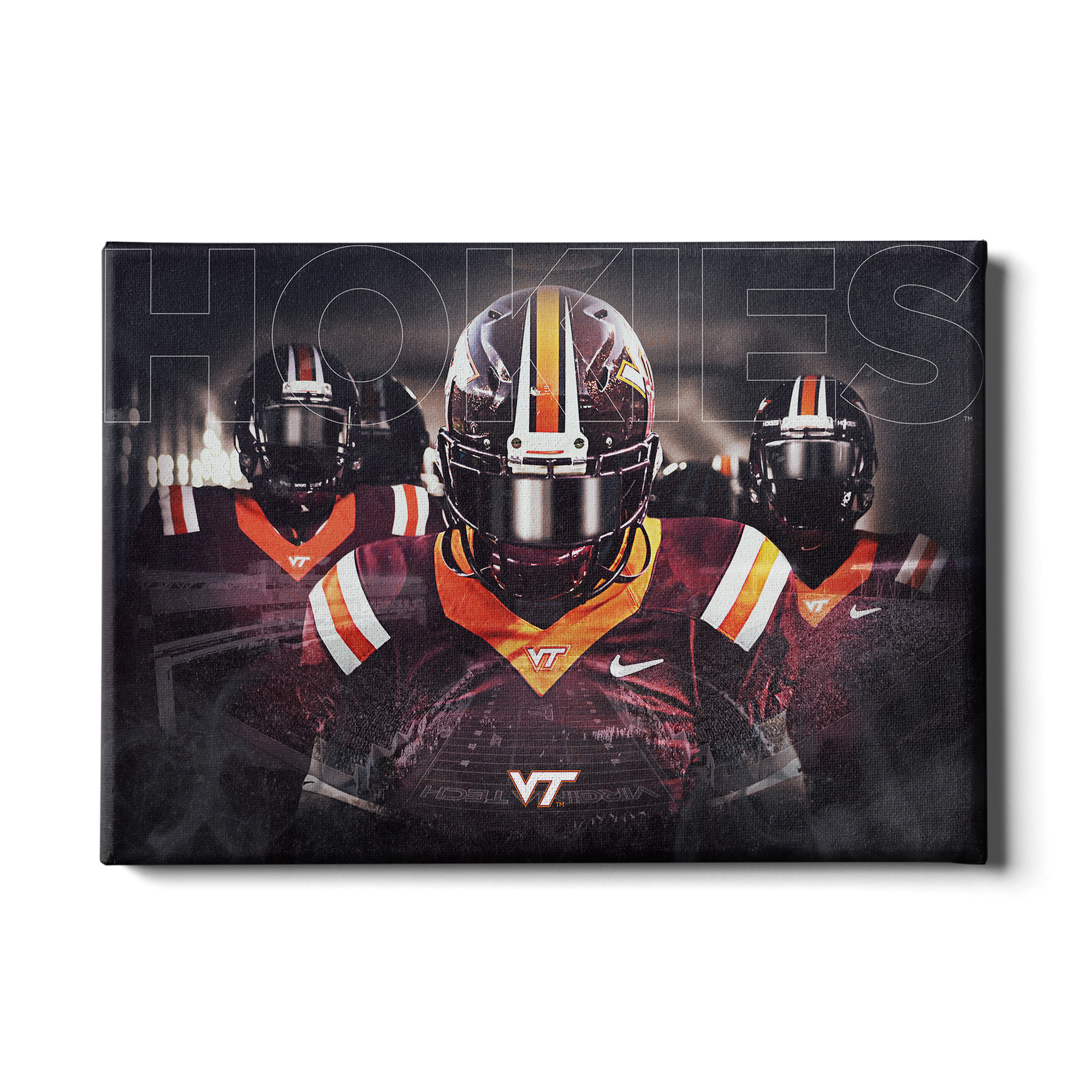 Virginia Tech Hokies - Hokie Entrance #Canvas