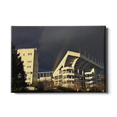 Virginia Tech Hokies - Rainbow Over Lane - College Wall Art #Canvas