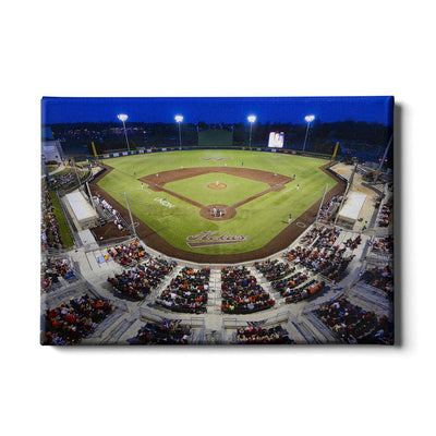 Virginia Tech Hokies - Night Time Union Park - College Wall Art #Canvas