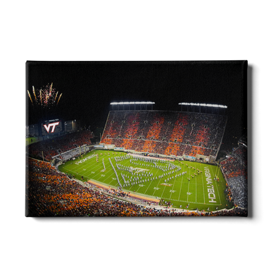 Virginia Tech Hokies - Super VT #Canvas