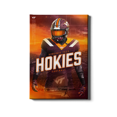 Virginia Tech Hokies - This is Hokie Football - College Wall Art #Canvas