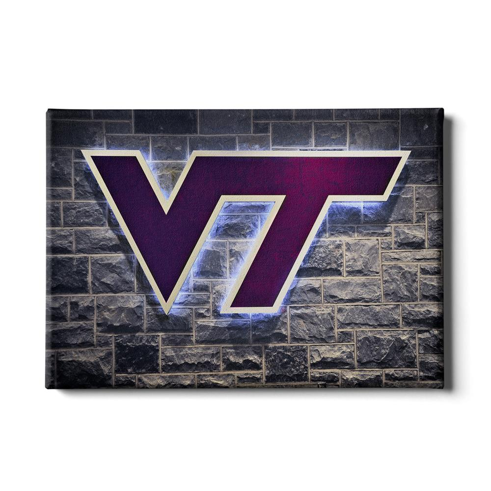 Virginia Tech Hokies - Locker Room #Canvas