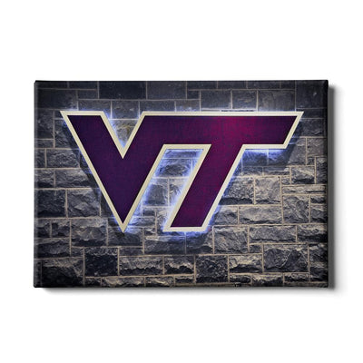 Virginia Tech Hokies - Locker Room - College Wall Art #Canvas