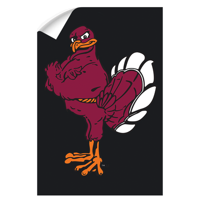 Virginia Tech Hokies - Hokie Bird 2 - College Wall Art #Wall Decal