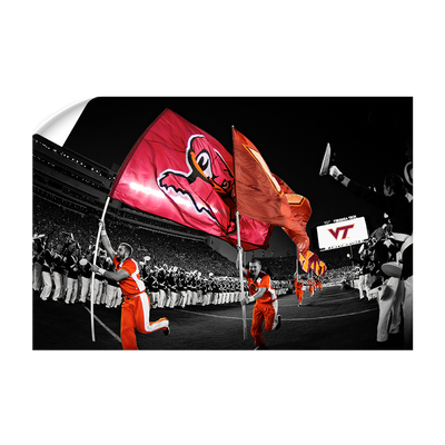 Virginia Tech Hokies - Enter Sandman - College Wall Art #Wall Decal