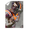 Virginia Tech Hokies - VT Watercolor - College Wall Art #Wall Decal