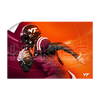 Virginia Tech Hokies - Maroon & Orange - College Wall Art #Wall Decal