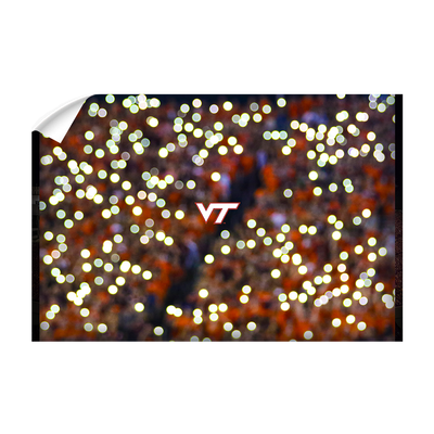 Virginia Tech Hokies - Light Up Lane - College Wall Art #Wall Decal