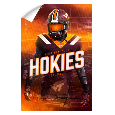 Virginia Tech Hokies - This is Hokie Football - College Wall Art #Wall Decal