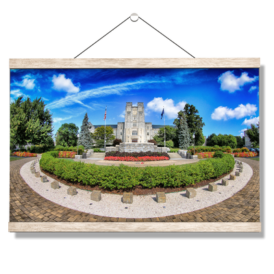 Virginia Tech Hokies - Burruss Hall - College Wall Art #Hanging Canvas