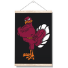Virginia Tech Hokies - Hokie Bird 2 - College Wall Art #Hanging Canvas