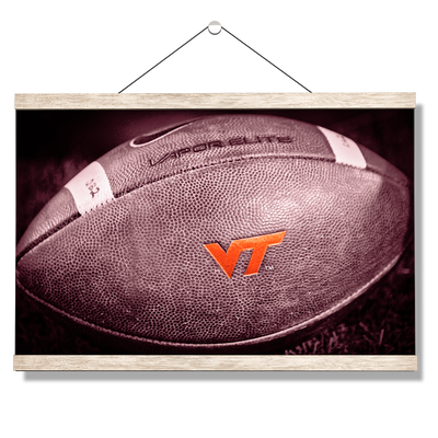 Virginia Tech Hokies - VT Football - College Wall Art #Hanging Canvas