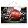 Virginia Tech Hokies - VT Helmet - College Wall Art #Hanging Canvas