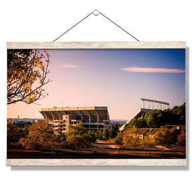 Virginia Tech Hokies - Autumn Day at Lane - College Wall Art #Hanging Canvas