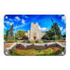 Virginia Tech Hokies - Summer Burress Hall - College Wall Art #Metal