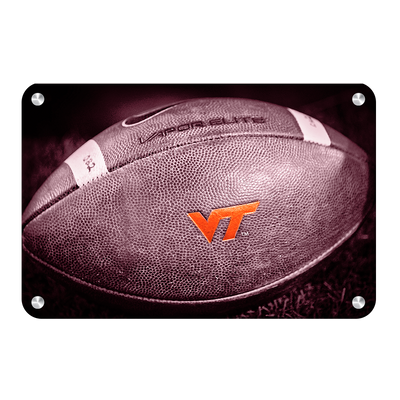 Virginia Tech Hokies - VT Football - College Wall Art #Metal