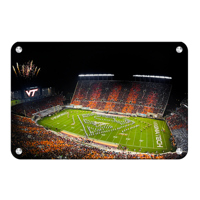Virginia Tech Hokies - Super VT - College Wall Art #Metal
