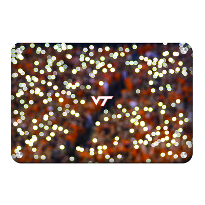 Virginia Tech Hokies - Light Up Lane - College Wall Art #Metal