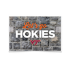 VIRGINIA TECH HOKIES - Lets Go Hokies - College Wall Art #Poster