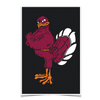 Virginia Tech Hokies - Hokie Bird 2 - College Wall Art #Poster