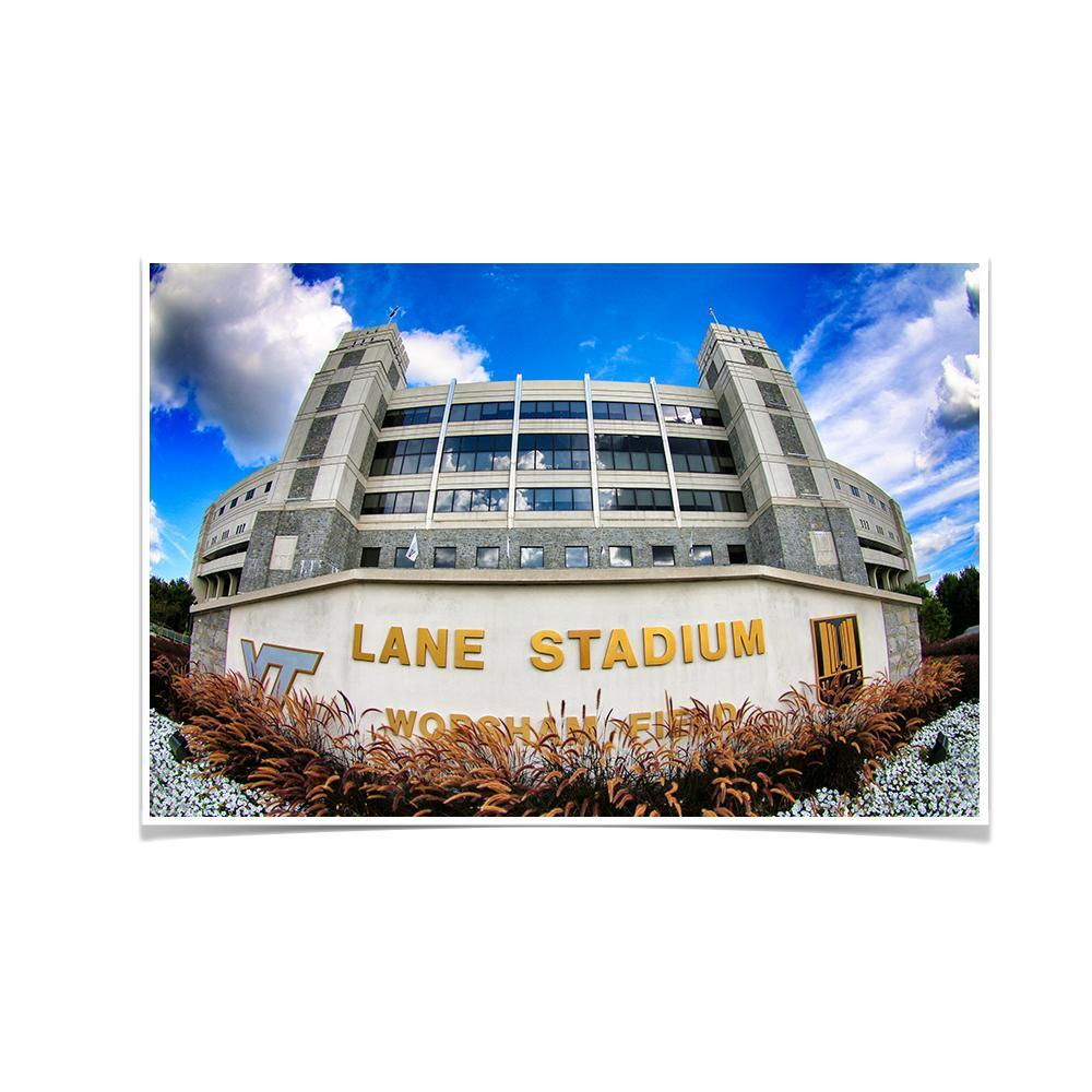 Virginia Tech Hokies - Lane Stadium 2 - College Wall Art #Canvas