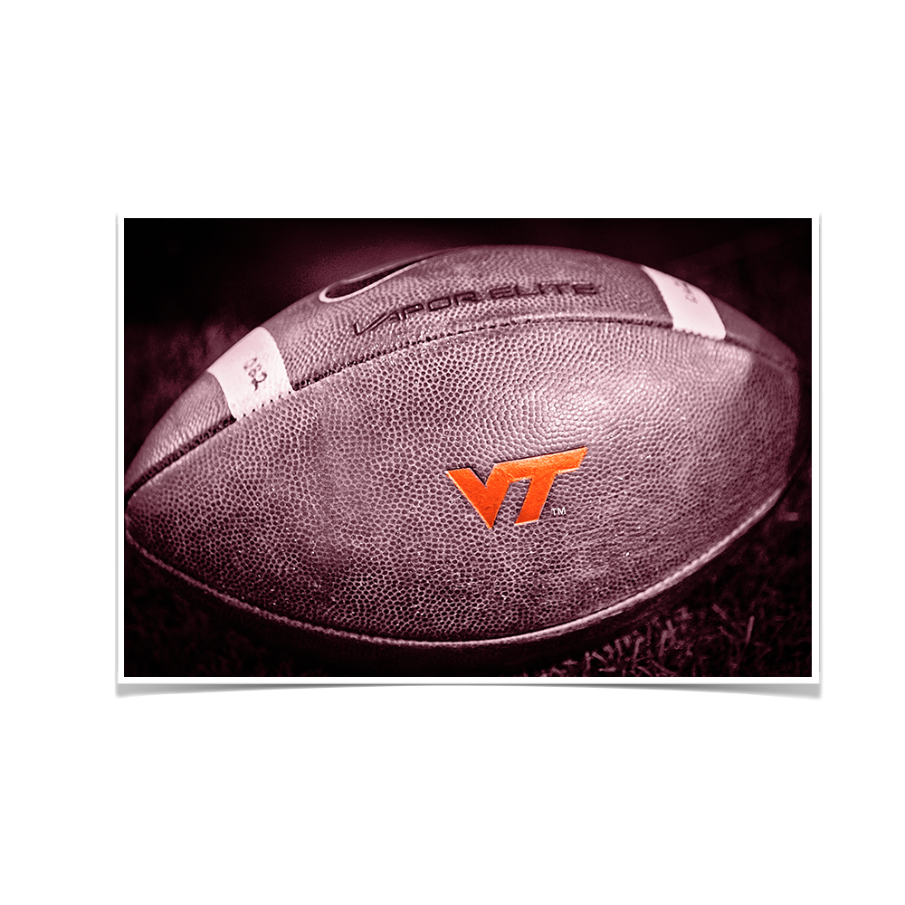 Virginia Tech Hokies - VT Football - College Wall Art #Canvas