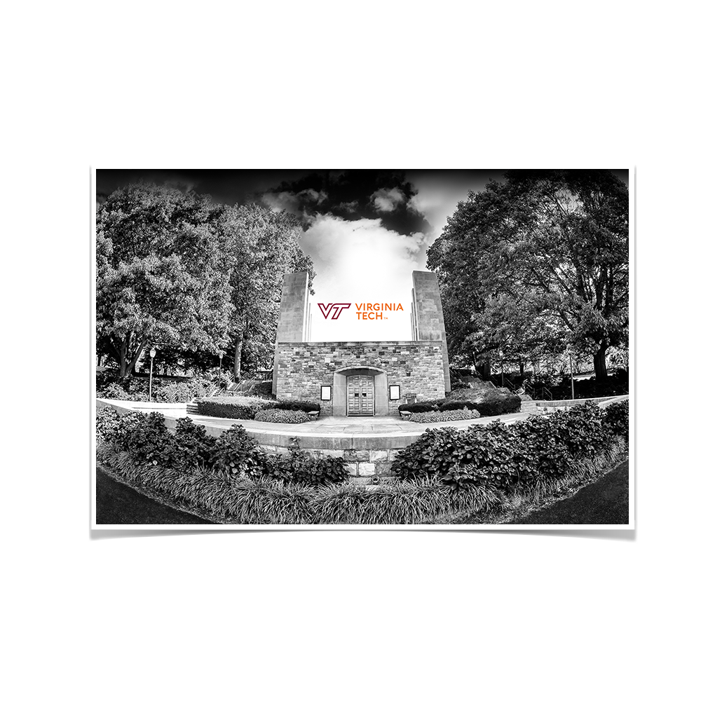 Virginia Tech Hokies - War Memorial 2 - College Wall Art #Canvas