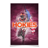 Virginia Tech Hokies - Hokie Smoke - College Wall Art #Poster