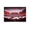 Virginia Tech Hokies - Hokie End Zone - College Wall Art #Poster