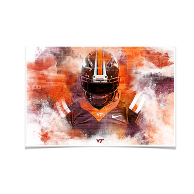Virginia Tech Hokies - Hokie Stone - College Wall Art #Poster