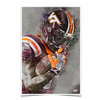 Virginia Tech Hokies - VT Watercolor - College Wall Art #Poster