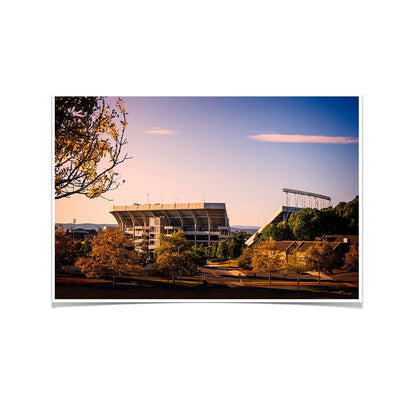 Virginia Tech Hokies - Autumn Day at Lane - College Wall Art #Poster