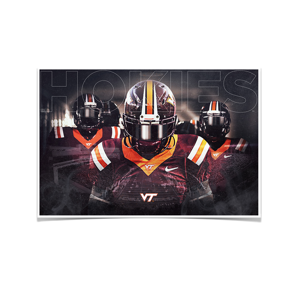 Virginia Tech Hokies - Hokie Entrance - College Wall Art #Canvas