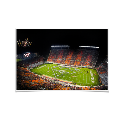 Virginia Tech Hokies - Super VT - College Wall Art #Poster