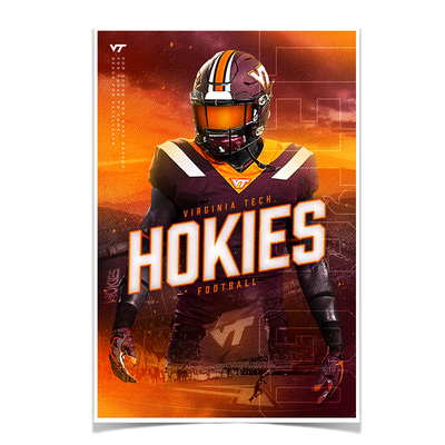 Virginia Tech Hokies - This is Hokie Football - College Wall Art #Poster