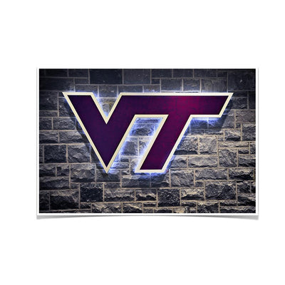 Virginia Tech Hokies - Locker Room #Poster