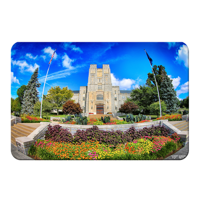 Virginia Tech Hokies - Summer Burress Hall - College Wall Art #PVC