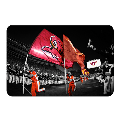 Virginia Tech Hokies - Enter Sandman - College Wall Art #PVC