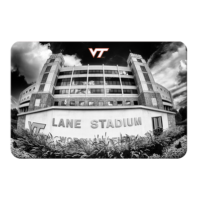 Virginia Tech Hokies - Lane Stadium Black & White - College Wall Art #PVC