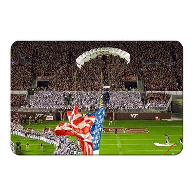 Virginia Tech Hokies - Enter Old Glory - College Wall Art #PVC